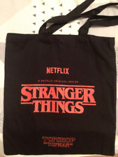 Stranger Things Topshop Limited Edition Tote Bag topman Netflix new rare merch