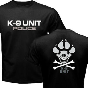 New K-9 Special Unit Police Dog Canine T-shirt