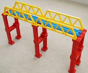 Tomy Trackmaster Plarail 44cm Double Height Truss Bridge