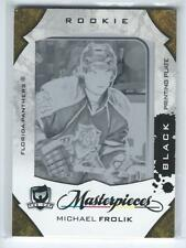 """2008-09 THE CUP """"ROOKIE MASTERPIECES"""" MICHAEL FROLIK ROOKIE PRINTING PLATE"""