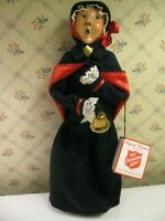 "Byers' Choice / Salvation Army Woman W/ Bell Caroler Singing 12-3/4"" Tall 2009"