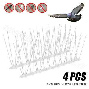 2 M Steel Wall Bird Fence Spikes Anti Climb Pigeon Seagull Repeller Deterrent UK