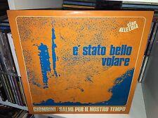 MARCELLO GIOMBINI E' STATO BELLO VOLARE CLAN ALLELUIA LP XIAN PROG 1970