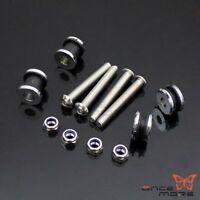 Detachable Sissy Bar Docking Mounting Hardware Kit For Harley XL1200  883 04 UP