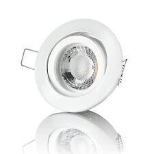 LED Einbaustrahler 230V 5W Weiß Spot LED Deckenstrahler Einbauleuchte - lambado®