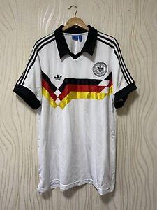 GERMANY 90s HOME FOOTBALL SHIRT SOCCER JERSEY RETRO ADIDAS AJ8021 sz XXL MENS