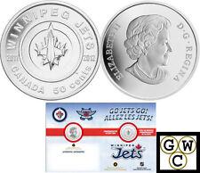 2011-2012 'Winnipeg Jets' 50-Cent Coin (12901)