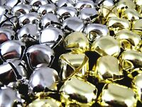 Gold or Silver Cat Bells - Sew On - 10mm - 12mm - 15mm - 20mm