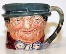"1939-1955 ROYAL DOULTON TONY WELLER Toby Mugs Jug 3"" -  "" A "" Mark on Bottom"