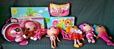Lalaloopsy Items Dolls, Purse, Books, Game, DVD, Tin, Lighted Canvas Picture EUC
