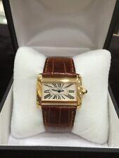 Cartier Tank Divan 18K Yellow Gold Ladies Watch 2601