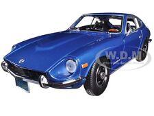1971 DATSUN 240Z BLUE 1:18 DIECAST MODEL CAR BY MAISTO 31170