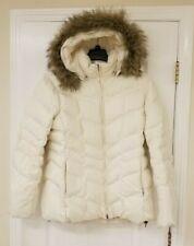 Lands End Ivory Down Heavy Winter Coat Jacket XL 18 20