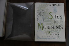FRANCE - SITES et MONUMENTS - TCF - ALSACE - HAUT-RHIN / BAS-RHIN 1929