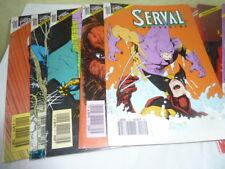 BD Marvel Comics SERVAL Version Intégrale Lot de 12