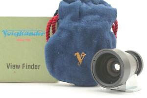 [Near MINT in Box] Voigtlander Brightline 28mm View Finder From JAPAN #00064