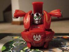 Bakugan Battle Brawlers Red Pyrus Warius 650g with 3 Random Metal Cards