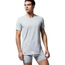 Lacoste T Shirts M Pack de 3 Gris Moyen BNWT Lacoste Live L! VE