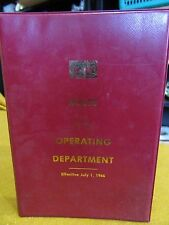 Louisville & Nashville Railroad:Rules of the Operating Equipment  July 1 1966