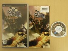 Sony PSP Game * MONSTER HUNTER FREEDOM * Complete PSP Retro Rare 11585