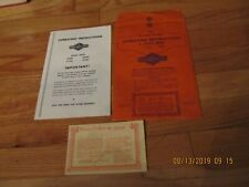 VTG BRIGGS & STRATTON OPERATING INSTRUCTIONS MANUAL 60500 61500 80500 81500
