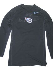 1183fd25 ALEX TANNEY SIDELINE WORN & SIGNED TENNESSEE TITANS #11 LONG SLEEVE NIKE  SHIRT