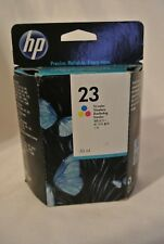 Genuine HP 23 Tri-Color Ink Cartridge (Feb 2014) - NEW & Sealed! FREE Shipping