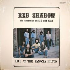 Red Shadow The Economics Rock and Roll Band LP Live Panacea Hilton Private Press
