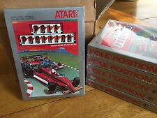 POLE POSITION -- for ATARI 2600 Video Game System FRESH CASE -  NOS - BRAND NEW