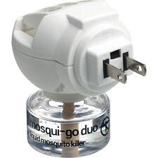 Go travel Mosqui-go duo usa/amérique plug-in mosquito repellent/killer neuf