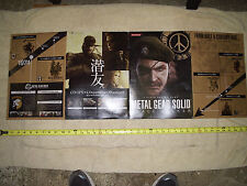 Metal Gear Solid: Peace Walker promo book from Tokyo Game Show