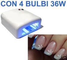 Lampada UV 36W professionale per gel unghie fornetto ricostruzione mani gel tips