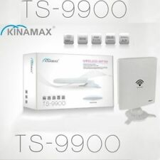 RIPETITORE WIFI AMPLIFICATORE ULTRA POTENTE ANTENNA KINAMAX TS-9900 WIRELESS PC