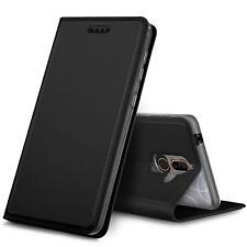 Étui pour Téléphone Portable Nokia 7 Plus Coque de Protection à Rabat + 9H