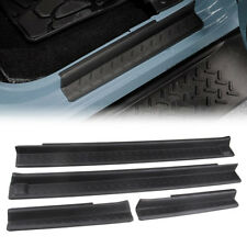Entry Guards Door Entry Sill Plate Protectors For 2007-2018 Jeep Wrangler 4 door