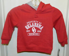 Oklahoma Sooners New College Pullover Hoodie Toddler 2T