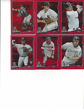 2014 Topps Series 2 Red Hot Foil Alejandro De Aza Chicago White Sox # 564