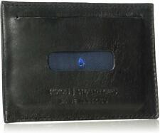 Nixon Stealth Slim Card Wallet Leather Black  NEW In Box