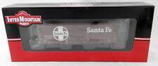 Ho Scale 40' Ps-1 Single Door Boxcar - Santa Fe #31596 - InterMountain #45415-10