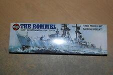 AIRFIX 1:600 THE ROMMEL   WEST GERMAN NAVAL DESTROYER