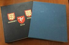 COLLECTION GUERNSEY + JERSEY HOUSED IN DAVO ALBUM 1969- 1984 85% complete MNH