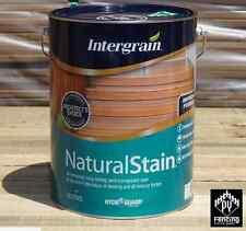 Intergrain Natural Stain 10L - Merbau decking