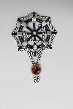 "#3726 4-1/2"" Nautical Marine Wheel,Rope w/Star Embroidery Iron On Applique Patch"