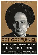 Art Garfunkel concert poster print