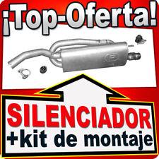 Silenciador FIAT BRAVO II / STILO LANCIA DELTA para SPORT +Chrom Tubo Escape NPR