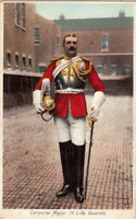 CPA ANGLETERRE ENGLAND corporal major 1st life guards