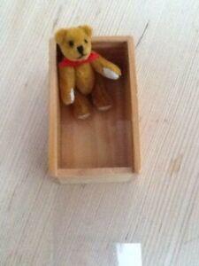 Spielzeug Sammler Puppenzubehör Puppenstubenzuhör Mini Bär 5cm Plüsch gegliedert