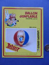 Carton ballon gonflable Grand Sauveur - Uderzo Astérix Obélix - 1985