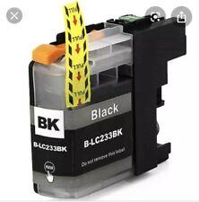 4 x Generic LC233  black Ink Cartridges for Brother J680DW,J880DW J5320DW,J5720