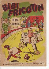 Bibi Fricotin 2 les farces de BF FORTON rééd